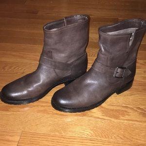 """Frye"" Natalie Short Engineer Boots"